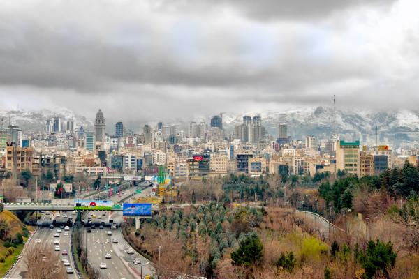 Tehran after the rain 2