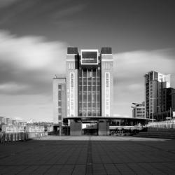 Black & White shot of the Baltic  Art Gallery