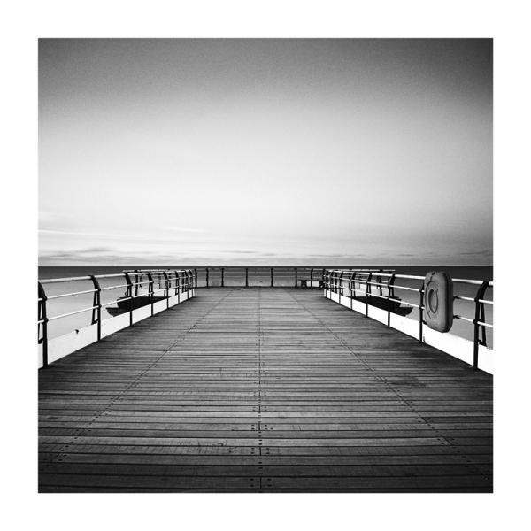 Saltburn Pier Black & White Fine Art Print