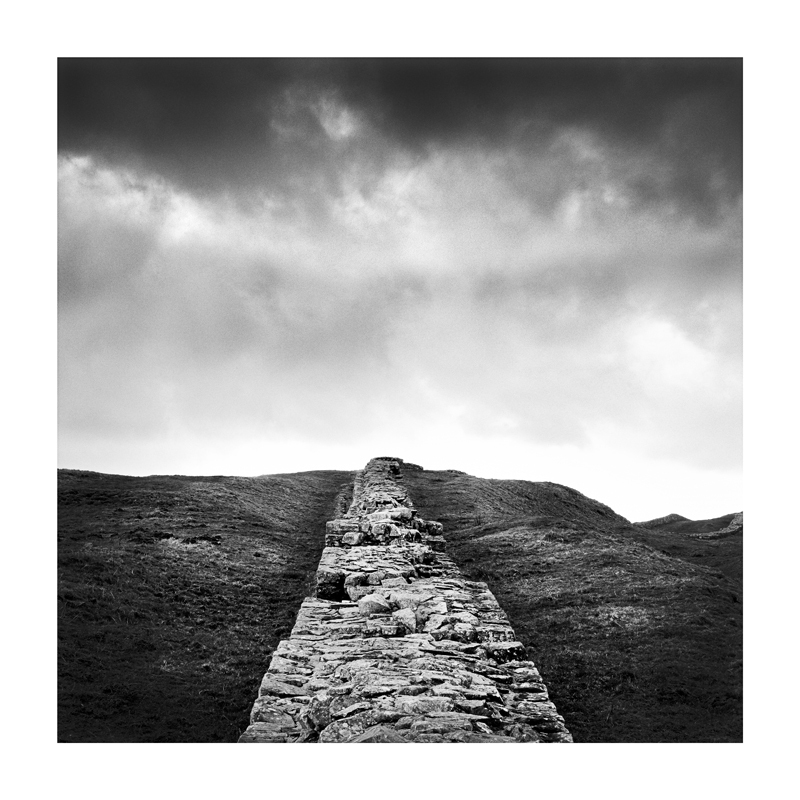 Black & White Fine Art image of Hadrians Wall
