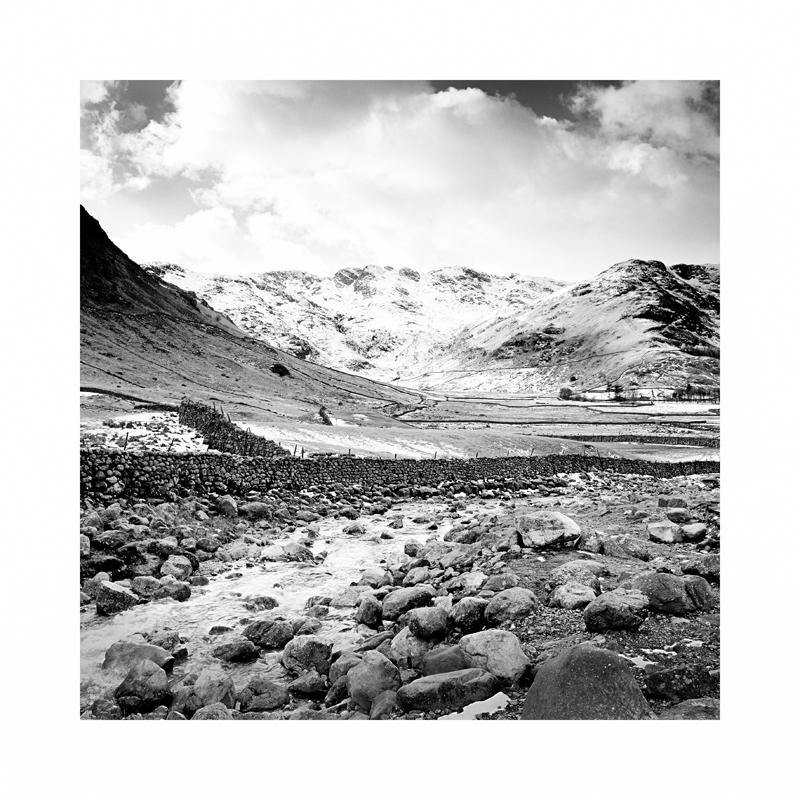 A winter Scene in the Lake District