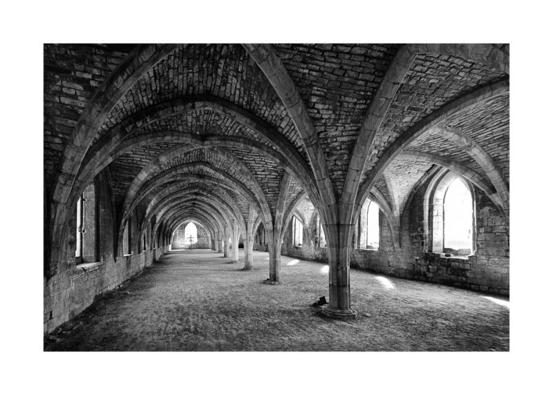 Inside Fountain Abbey