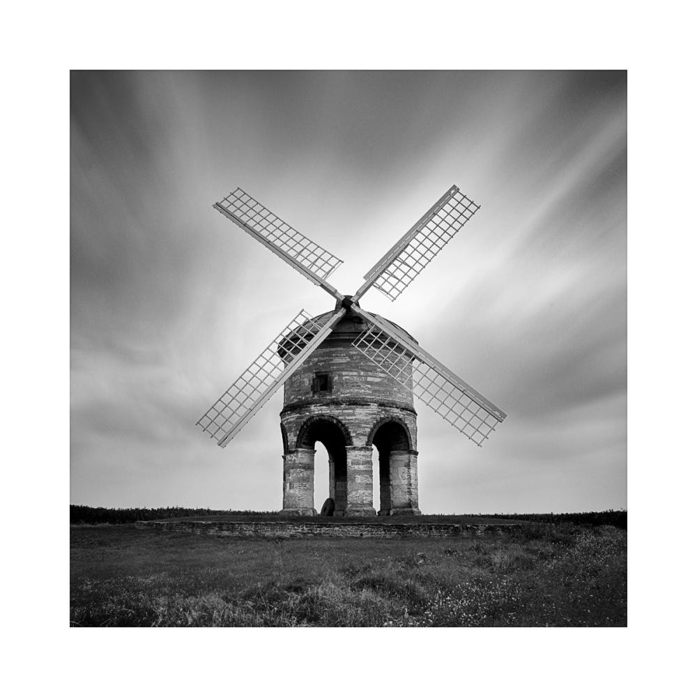 Black & White Fine Art image - chesterton windmill