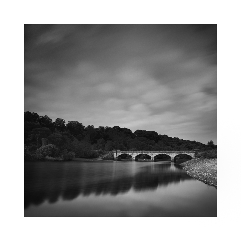 Black & White fine art photograph Bridge in Bedale
