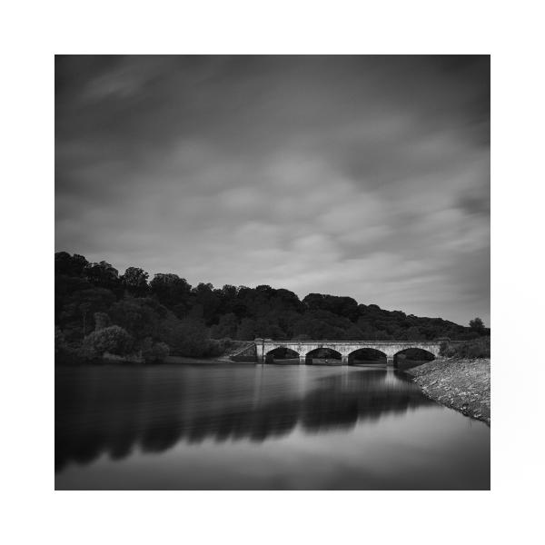 Black & White fine art photograph Bridge in Bedale