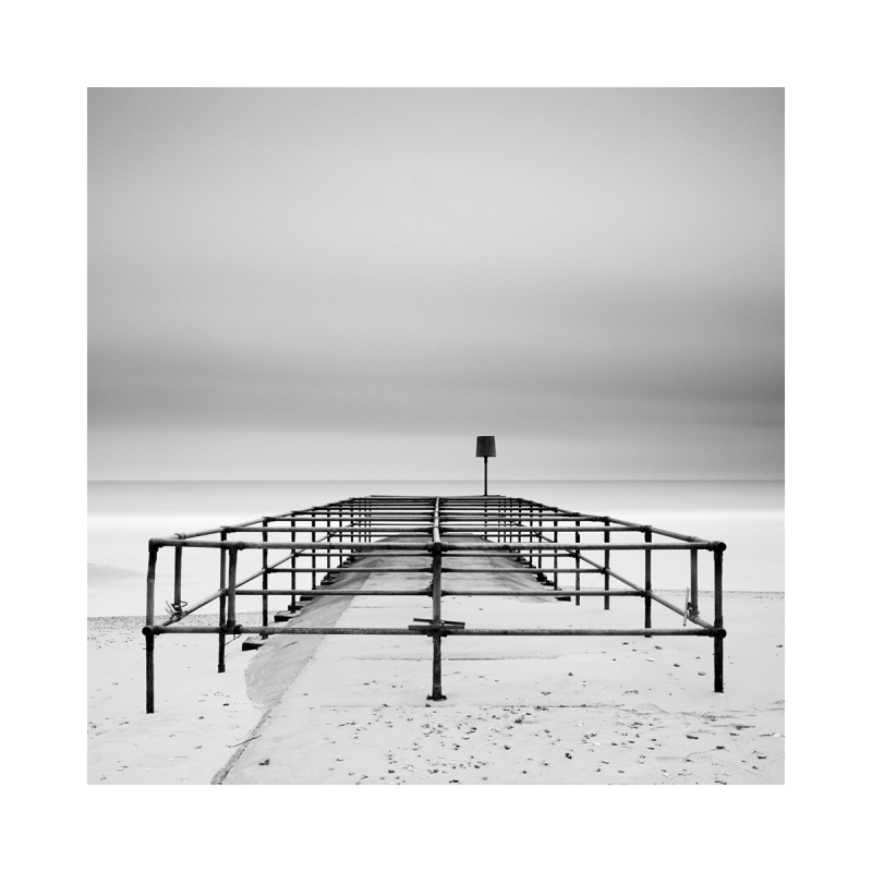 A structure on Bournemouth Beach