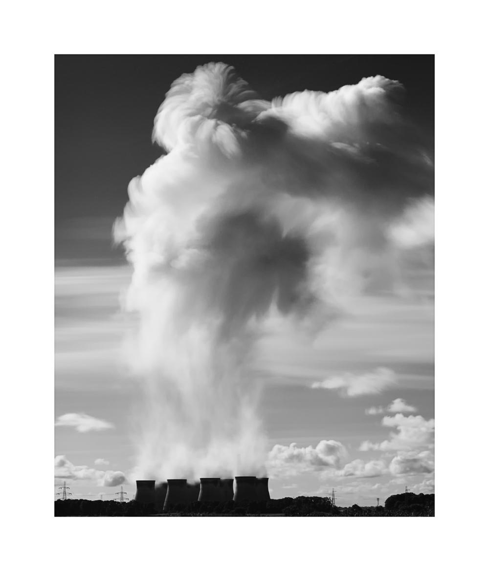 black & White Fine Art image - Ferrybridge