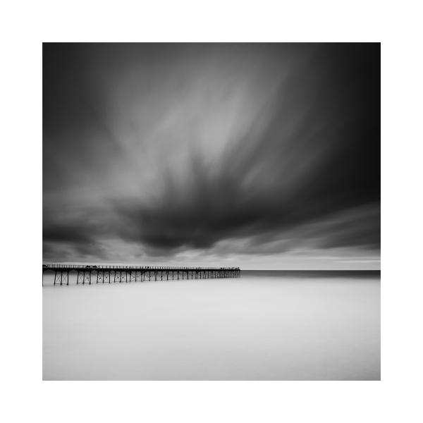 Long exposure of Saltburn Pier
