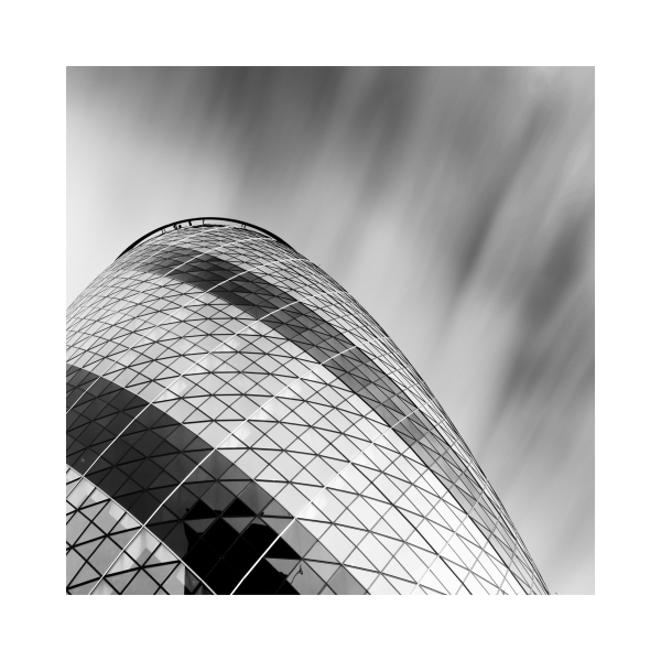 Black & White Fine Art image - The Gherkin