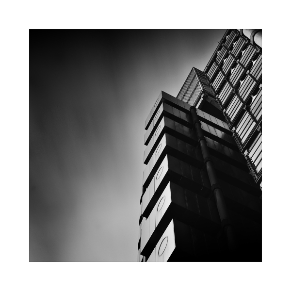 black & White Fine Art image - Lloyds Building