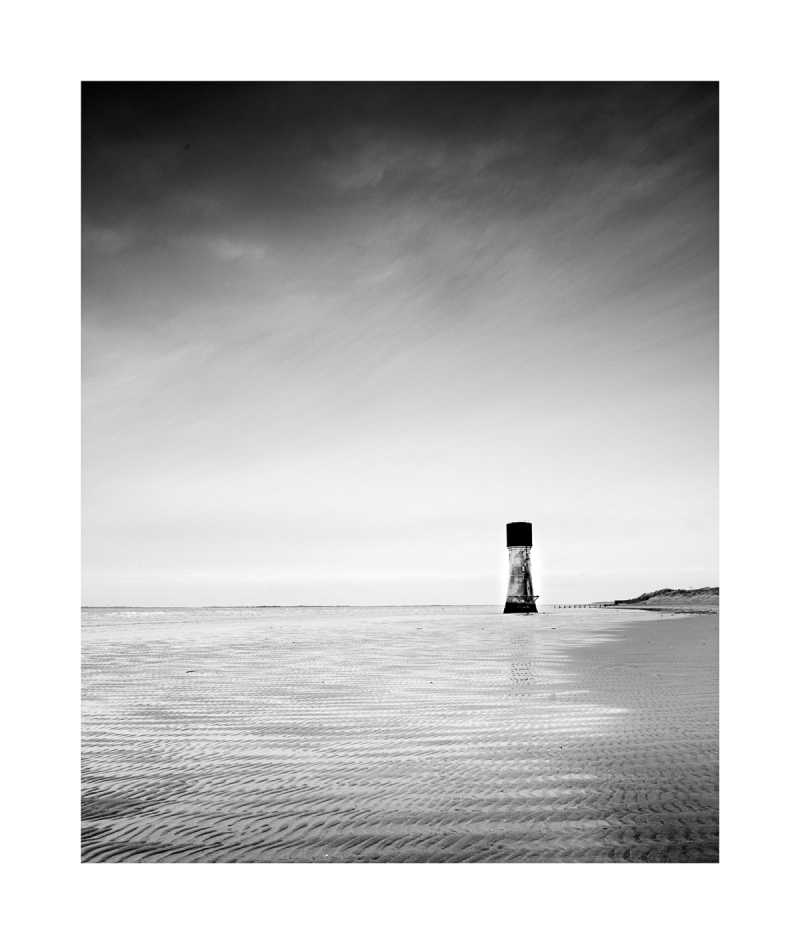 black & White Fine Art image - Spurn Point