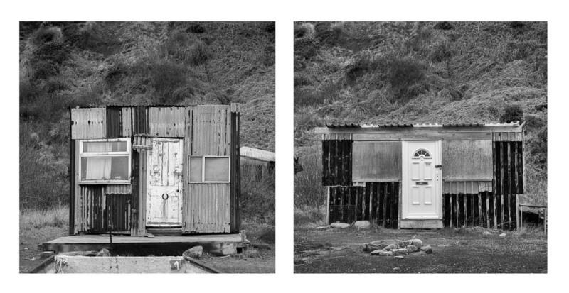 Sheds at Port Mulgrave