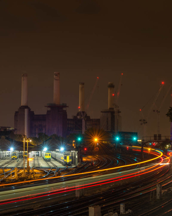 A view of battersea power station