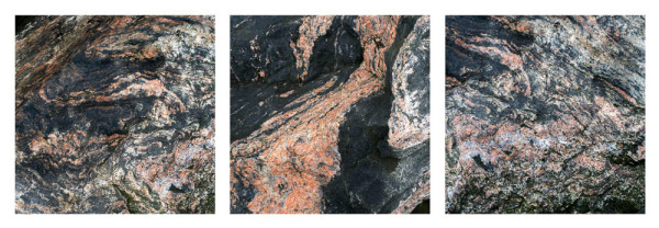 A selection of detailed rock images