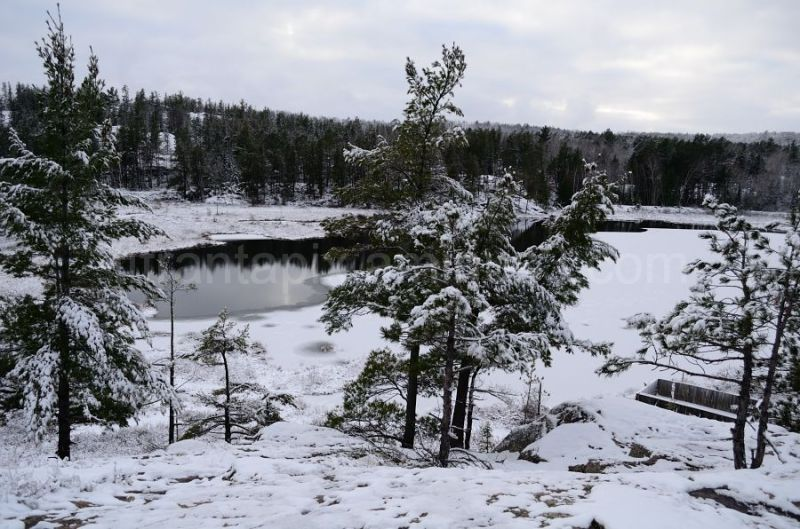 Winter at Wetmore Pond