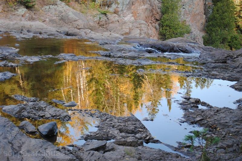 Baptism River above High Falls