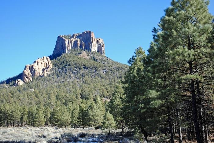 Black Rock Butte, Tsaile, AZ