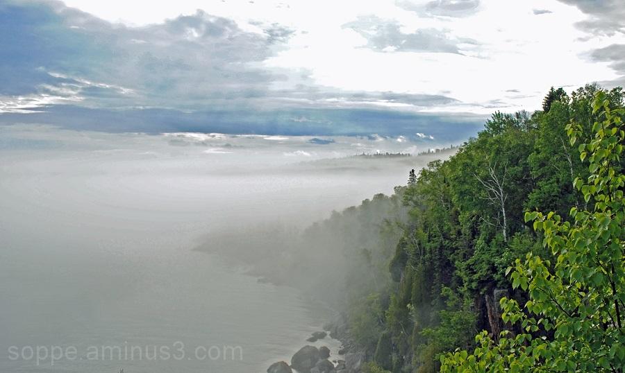 Fog over Lake Superior 2