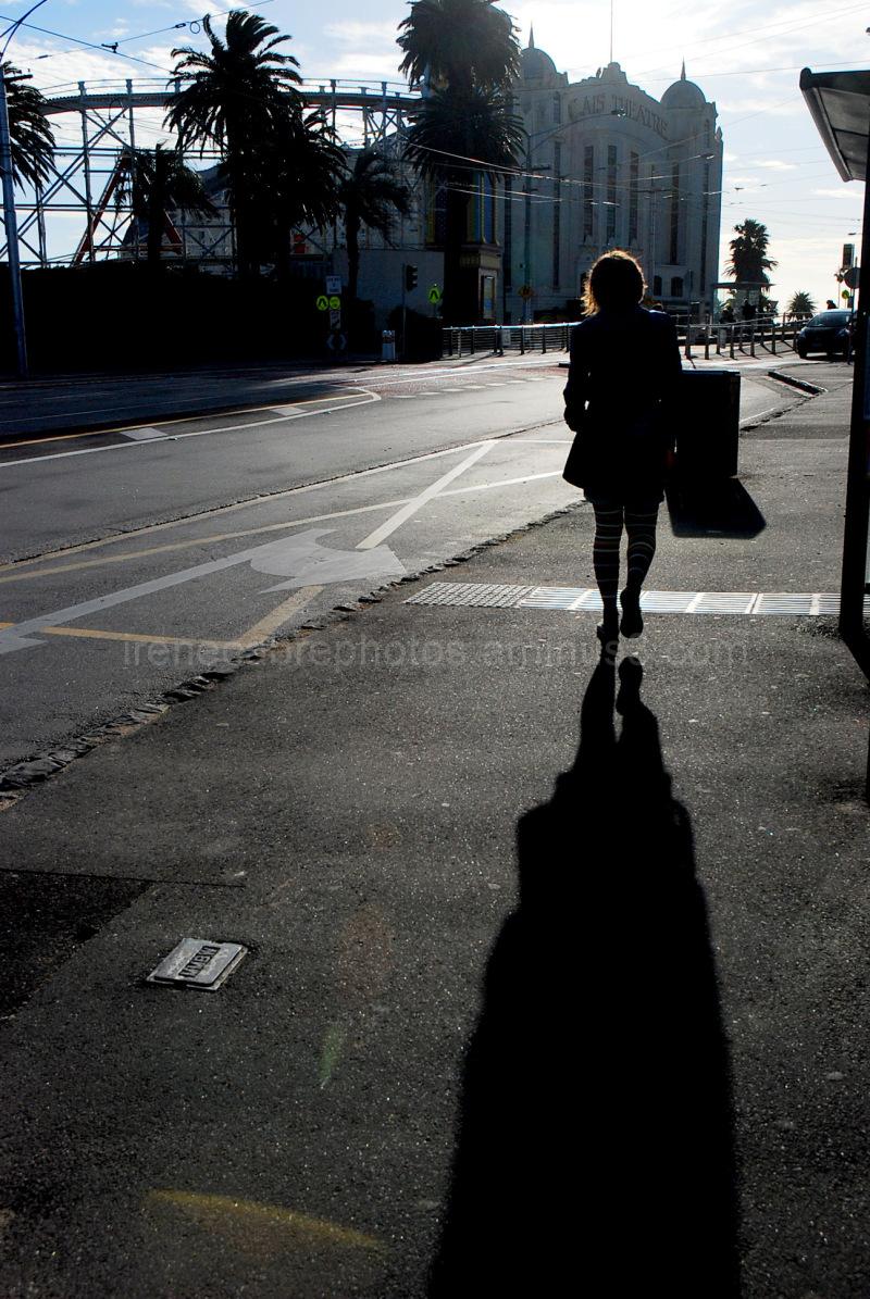la sombra d