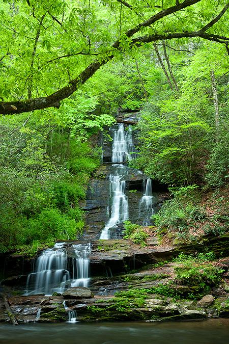 Tom Branch Falls, Smoky Mountains
