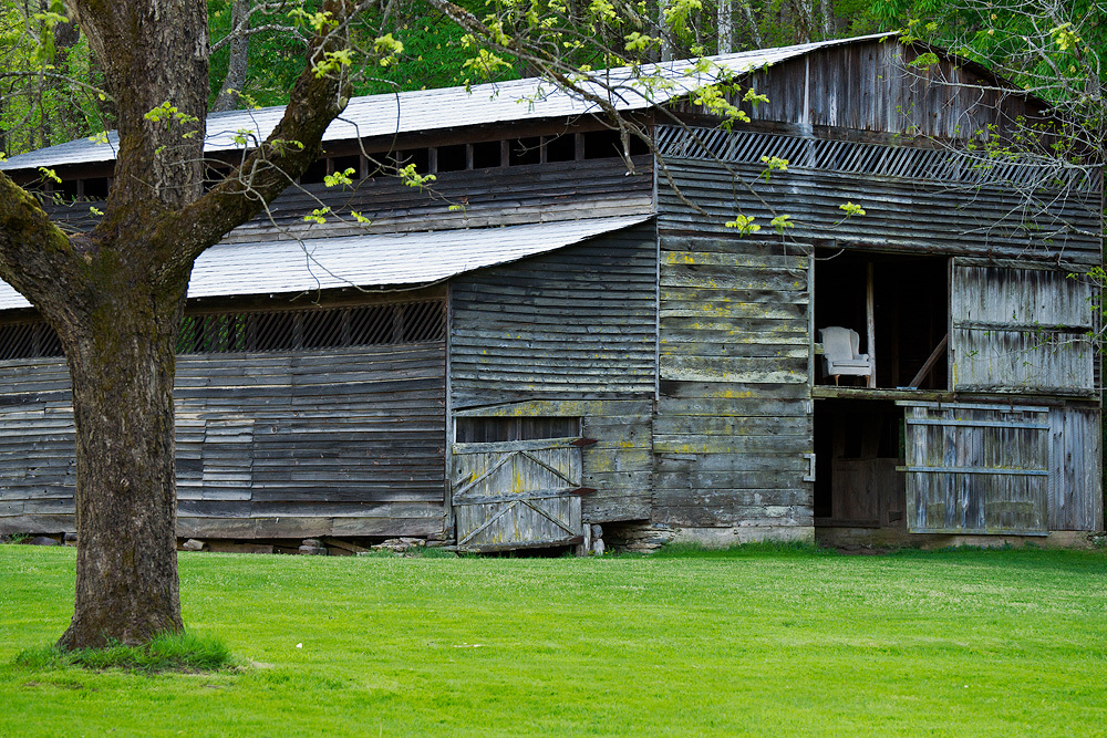 Barn with a lounge