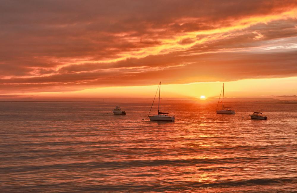 Sunset, Harbor of Refuge