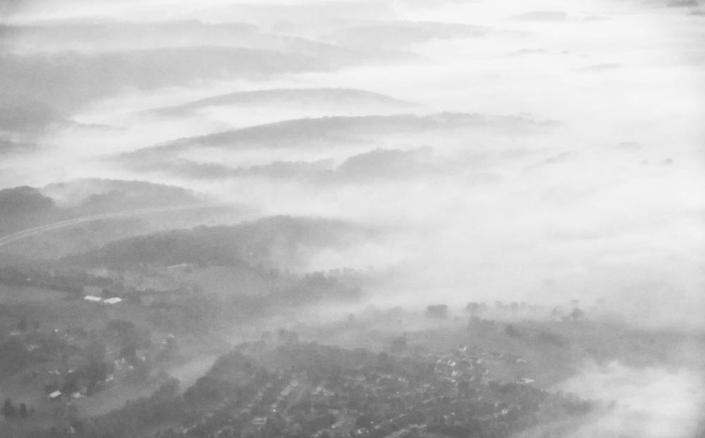 Foggy Morning, Allegheny Mountatins, Pennsylvania