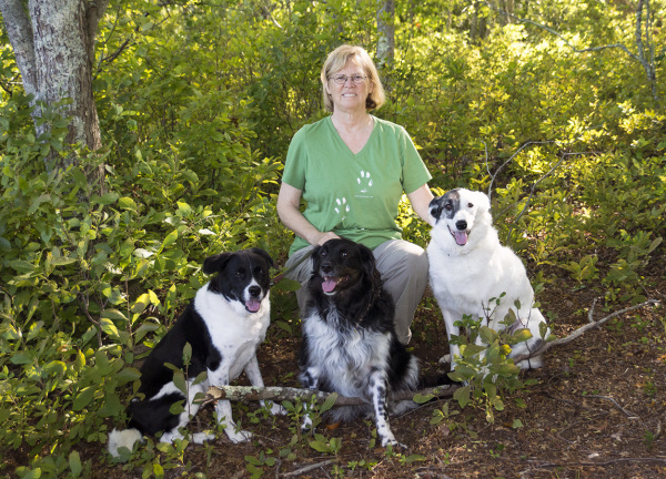 Donna, Lucy, Phoebe, and Reggie, Beaver River