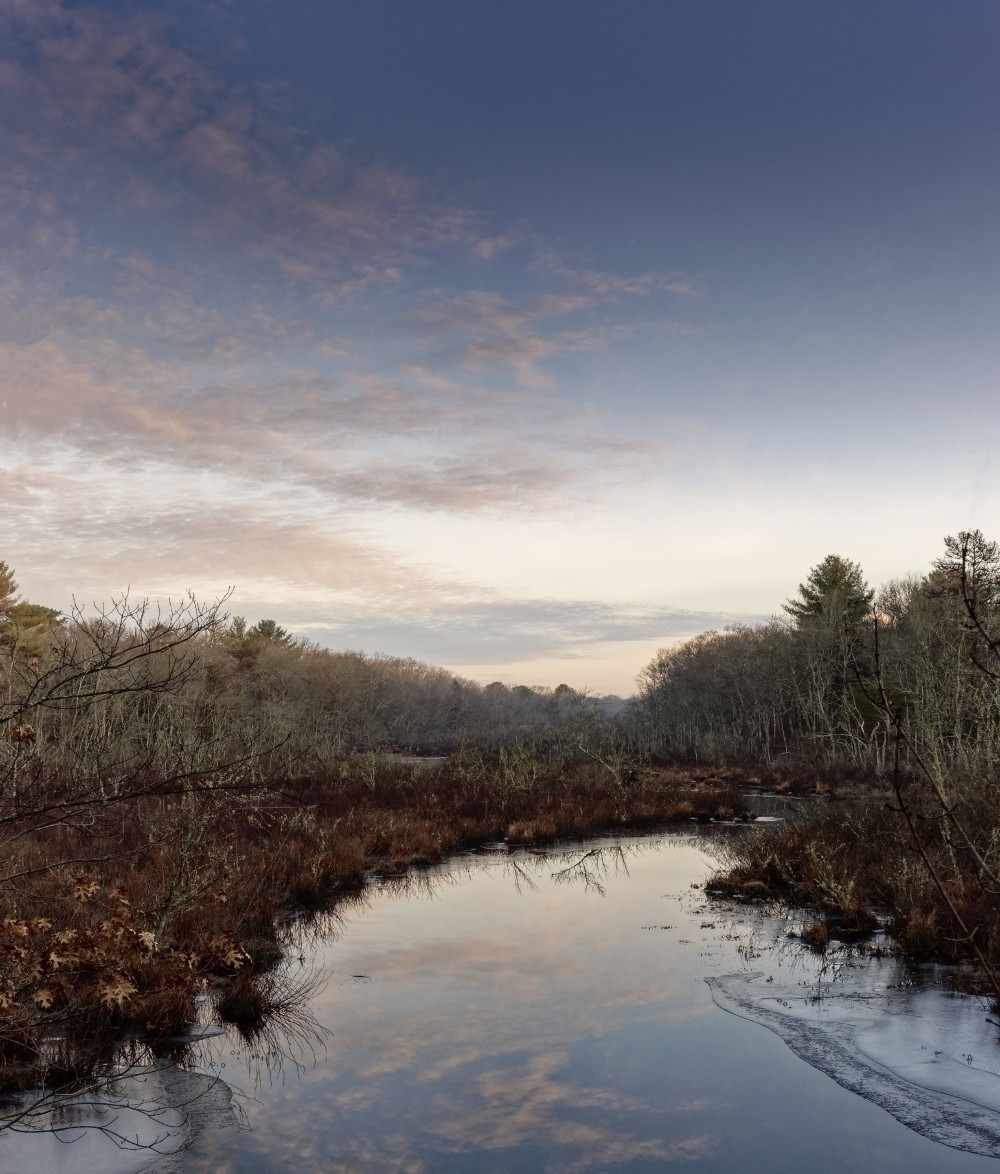 Morning on the Chipuxet River
