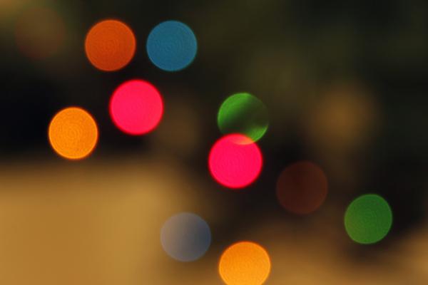 Spalsh of lights