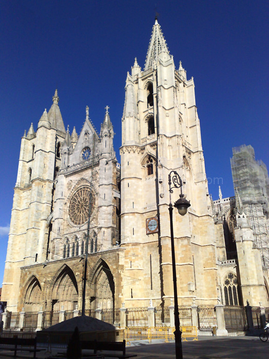 Cathedral of León. Spain.