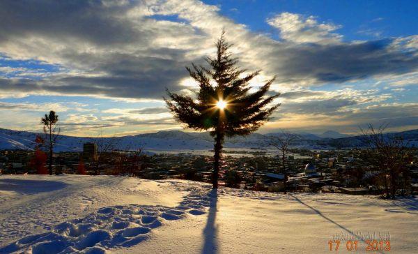 منظره جالب از کردستان-بانه