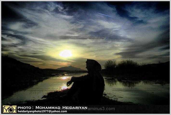 Sunset Dream of a Girl