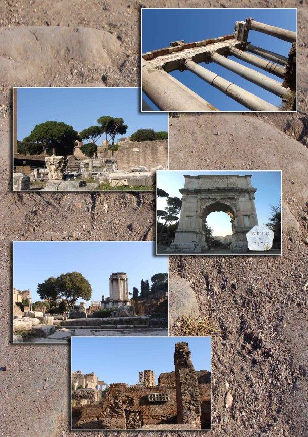 Het Forum Romanum 1/2