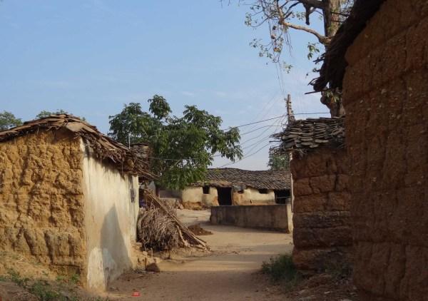 Dorpje in India