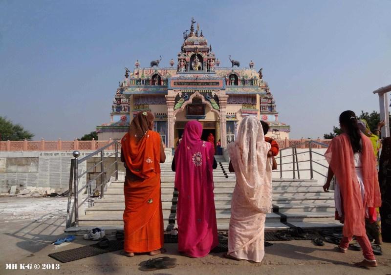 Krishnatempel in Noord-India