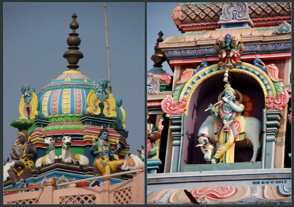 Details van Krishnatempel