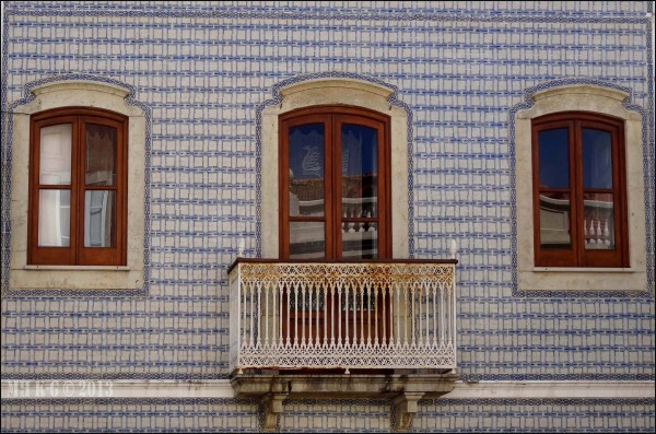 Portugees wandtegelhuis