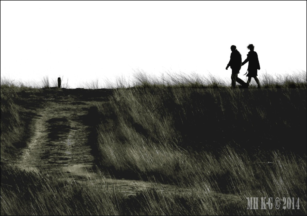 Aan de wandel
