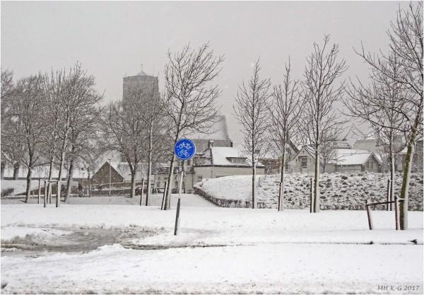 Snow in Brielle : 1/2