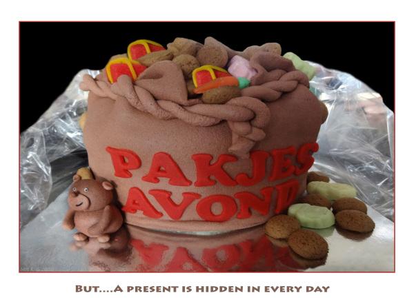 `Sinterklaas/present` cake