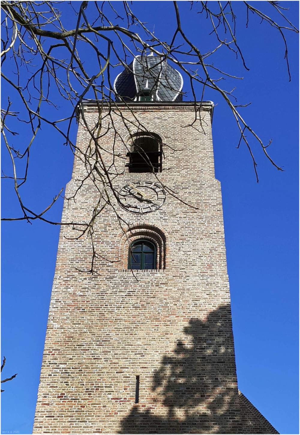 The church tower of Oostvoorne