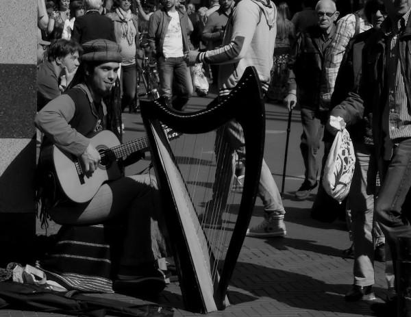 Street shot ... The Music Player