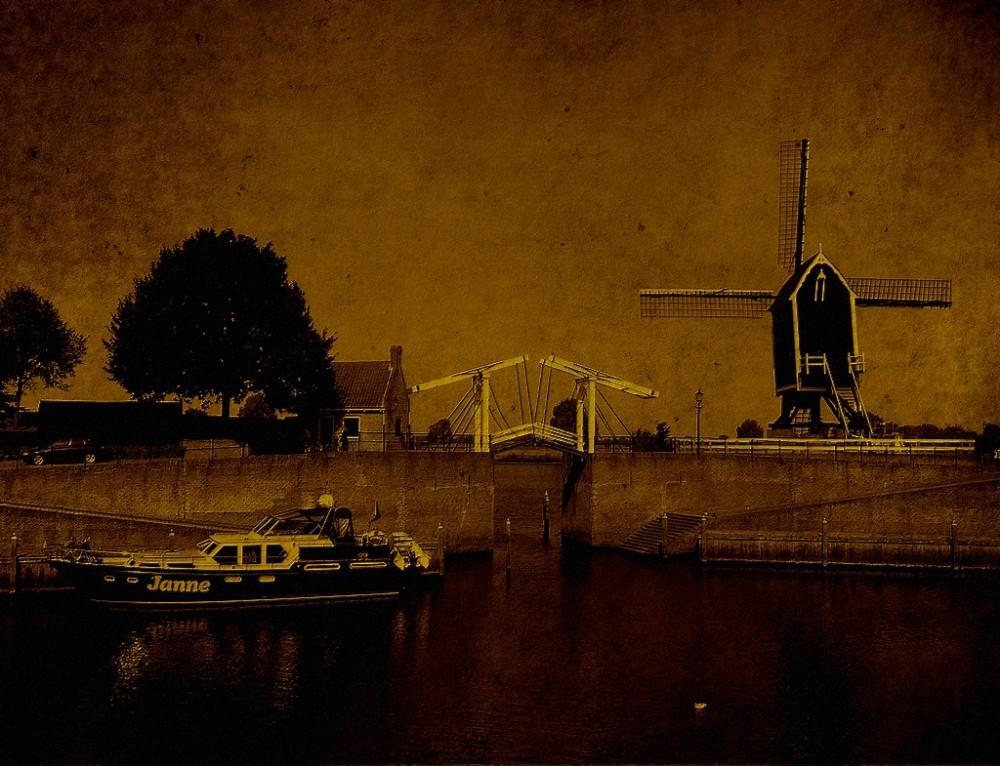 Heusden a small town in the Netherlands