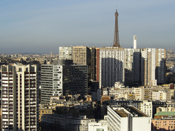 Parisian towers
