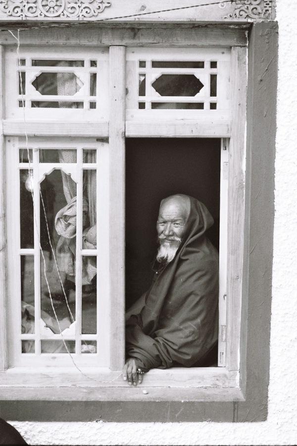 Old Monk in Ladakh