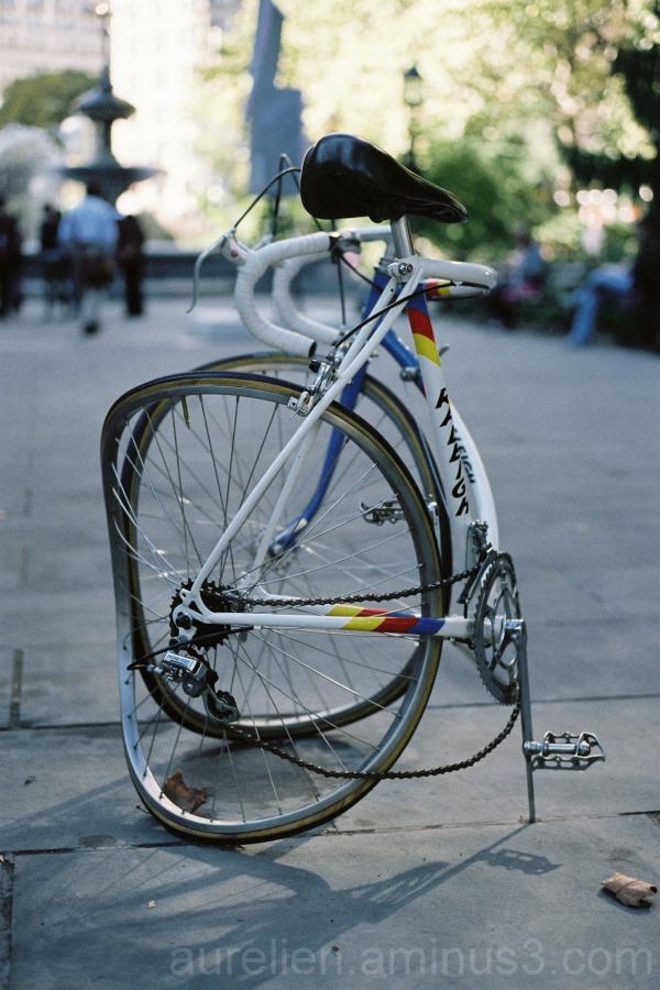 Sculpture of a Bike, New York