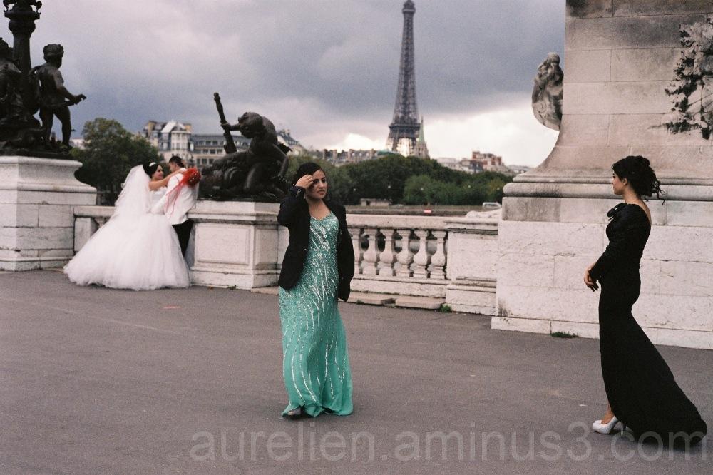 Wedding photos in Paris