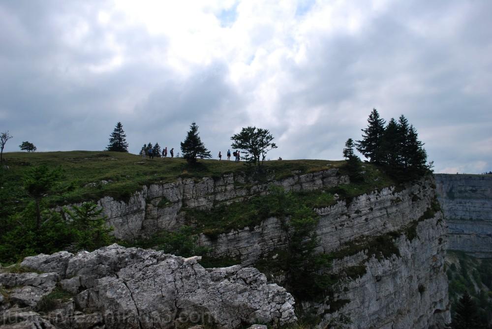 Les falaises du Creux du Van
