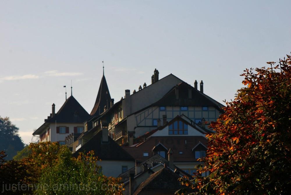 Les toits d Erlach